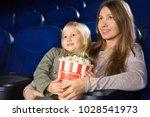 happy beautiful mature woman... | Shutterstock . vector #1028541973