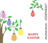 vector illustrations of easter... | Shutterstock .eps vector #1028548267