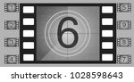movie countdown numbers vector... | Shutterstock .eps vector #1028598643