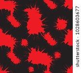 tileable crime bloodshed busted ...   Shutterstock .eps vector #1028603677