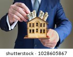 real estate and mortgage... | Shutterstock . vector #1028605867
