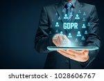 gdpr  general data protection...   Shutterstock . vector #1028606767