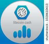 litecoin cash. crypto currency... | Shutterstock .eps vector #1028610613