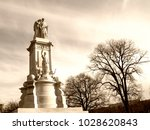 peace monument  on the grounds... | Shutterstock . vector #1028620843