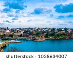 antalya ancient old town view. | Shutterstock . vector #1028634007