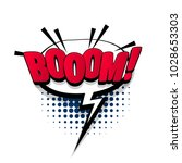 boom  bang hand drawn pictures... | Shutterstock .eps vector #1028653303