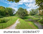 landscape with temples of zeus...   Shutterstock . vector #1028656477