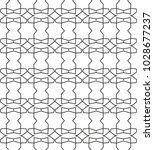 geometric ornamental vector... | Shutterstock .eps vector #1028677237