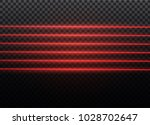 abstract red laser beam.... | Shutterstock .eps vector #1028702647