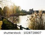 winter's kadoike park   Shutterstock . vector #1028728807