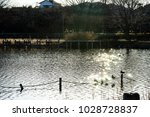 winter's kadoike park   Shutterstock . vector #1028728837
