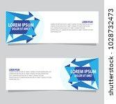 banner background.modern vector ...   Shutterstock .eps vector #1028732473