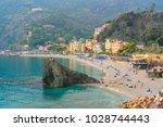 monterosso al mare  old seaside ... | Shutterstock . vector #1028744443