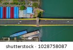 Small photo of Jembatan Soekarno lihat dari atas