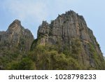 old   beautiful  mountain  in ... | Shutterstock . vector #1028798233