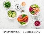 fresh seafood recipe. shrimp...   Shutterstock . vector #1028812147