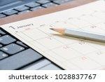 calendar planner   timetable or ... | Shutterstock . vector #1028837767