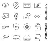 flat vector icon set   cloud... | Shutterstock .eps vector #1028883877