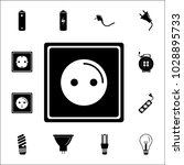 electric outlet icon. set of... | Shutterstock .eps vector #1028895733