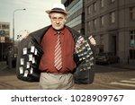 older dealer of narcotics...   Shutterstock . vector #1028909767