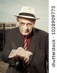 older dealer of narcotics...   Shutterstock . vector #1028909773