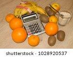 concept of diet. low calorie... | Shutterstock . vector #1028920537