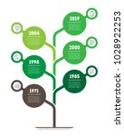 vertical timeline infographics. ... | Shutterstock .eps vector #1028922253