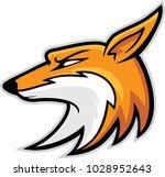 fox head mascot  vector...   Shutterstock .eps vector #1028952643