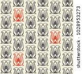 art deco seamless pattern in... | Shutterstock .eps vector #1028953273