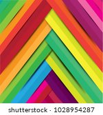 abstract geometric pixel mosaic ... | Shutterstock .eps vector #1028954287