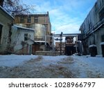 a abandoned old factory | Shutterstock . vector #1028966797