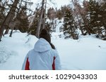 alone woman looking the... | Shutterstock . vector #1029043303