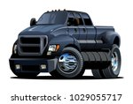 vector cartoon car. available... | Shutterstock .eps vector #1029055717