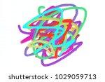holi festival. the rainbow nice ... | Shutterstock . vector #1029059713