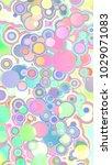 abstract 3d geometrical design | Shutterstock . vector #1029071083