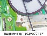 interior of the mechanics of an ... | Shutterstock . vector #1029077467