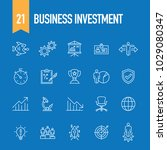 business investment concept | Shutterstock .eps vector #1029080347