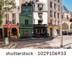 typical view of the parisian... | Shutterstock . vector #1029106933