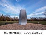 huge air filter tackling the... | Shutterstock . vector #1029110623