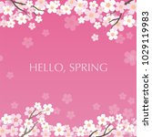 seamless vector background... | Shutterstock .eps vector #1029119983