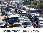 kathmandu  nepal   october 25 ...   Shutterstock . vector #1029125947