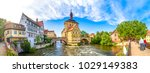 bamberg  bavaria  germany  | Shutterstock . vector #1029149383