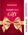 beautiful invitation or... | Shutterstock .eps vector #1029152767