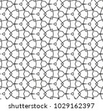 seamless geometric ornamental... | Shutterstock .eps vector #1029162397