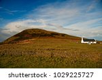 the church at mwnt dates back... | Shutterstock . vector #1029225727