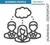 business people icon.... | Shutterstock .eps vector #1029269167