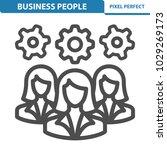 business people icon.... | Shutterstock .eps vector #1029269173