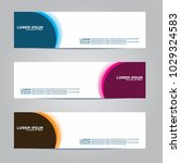banner background.modern vector ... | Shutterstock .eps vector #1029324583