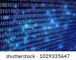 01 digital network technology | Shutterstock . vector #1029335647