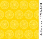 seamless pattern with round... | Shutterstock .eps vector #1029364453